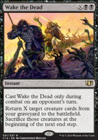 Wake the Dead - Commander 2014