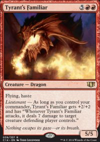 Tyrant's Familiar - Commander 2014