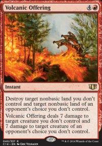 Volcanic Offering - Commander 2014