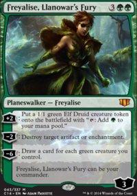 Freyalise, Llanowar's Fury - Commander 2014