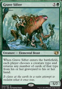 Grave Sifter - Commander 2014
