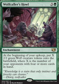 Wolfcaller's Howl - Commander 2014