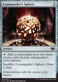 Commander's Sphere - Commander 2014