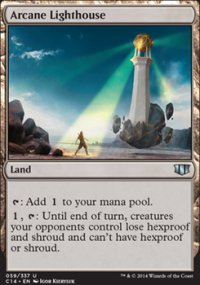 Arcane Lighthouse - Commander 2014
