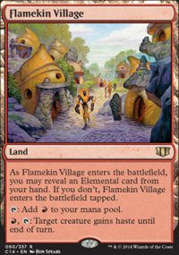 Flamekin Village - Commander 2014