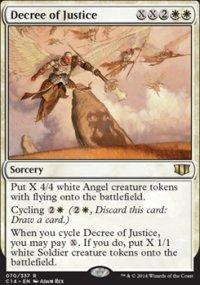 Decree of Justice - Commander 2014
