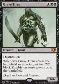 Grave Titan - Commander 2014