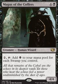 Magus of the Coffers - Commander 2014