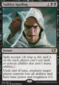 Sudden Spoiling - Commander 2014