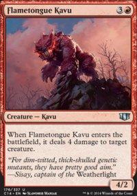 Flametongue Kavu - Commander 2014