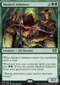 Masked Admirers - Commander 2014
