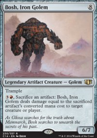 Bosh, Iron Golem - Commander 2014