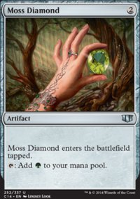 Moss Diamond - Commander 2014