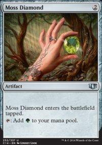 Moss Diamond - Commander 2014