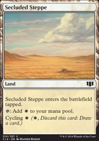 Secluded Steppe - Commander 2014