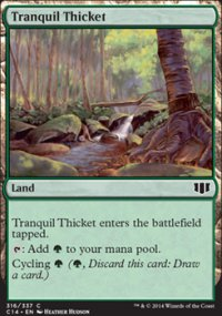 Tranquil Thicket - Commander 2014