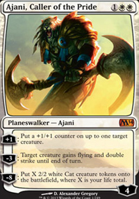 Ajani, Caller of the Pride - Magic 2014