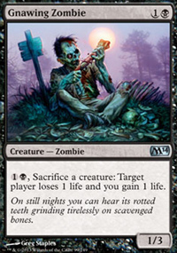 Gnawing Zombie - Magic 2014