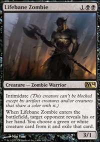 Lifebane Zombie - Magic 2014