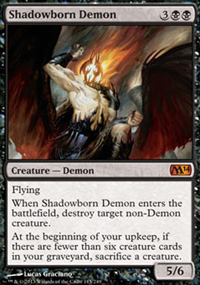 Shadowborn Demon - Magic 2014