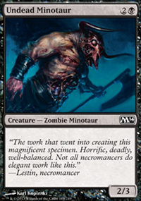 Undead Minotaur - Magic 2014