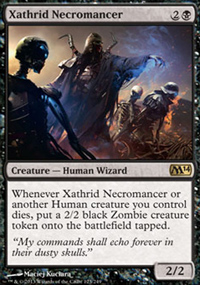 Xathrid Necromancer - Magic 2014