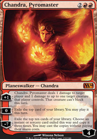 Chandra, Pyromaster - Magic 2014