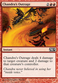 Chandra's Outrage - Magic 2014
