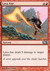Lava Axe - Magic 2014