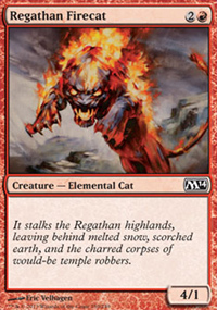 Regathan Firecat - Magic 2014