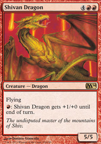Shivan Dragon - Magic 2014