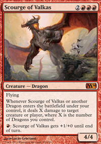 Scourge of Valkas - Magic 2014