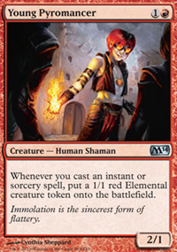 Young Pyromancer - Magic 2014