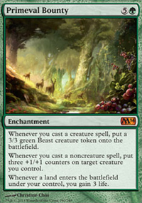 Primeval Bounty - Magic 2014