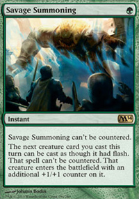 Savage Summoning - Magic 2014