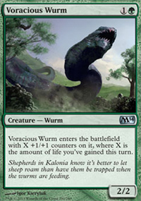 Voracious Wurm - Magic 2014