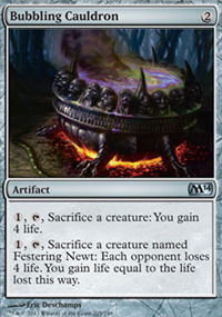 Bubbling Cauldron - Magic 2014