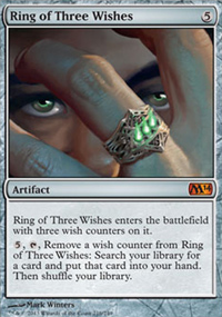 Ring of Three Wishes - Magic 2014