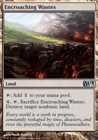 Encroaching Wastes - Magic 2014