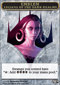 Emblem Liliana of the Dark Realms - Magic 2014