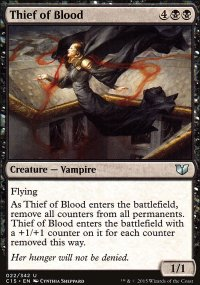 Thief of Blood - Commander 2015