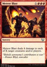 Meteor Blast - Commander 2015