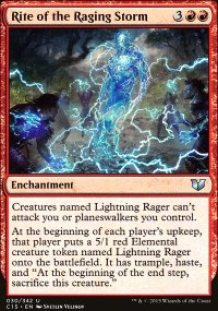 Rite of the Raging Storm - Commander 2015