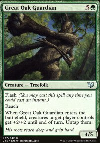 Great Oak Guardian - Commander 2015