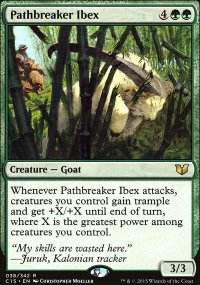 Pathbreaker Ibex - Commander 2015