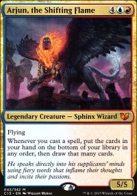 Arjun, the Shifting Flame - Commander 2015