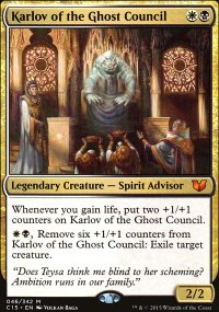 Karlov of the Ghost Council - Commander 2015