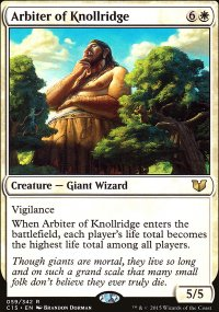 Arbiter of Knollridge - Commander 2015