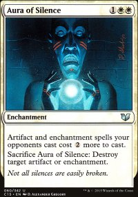 Aura of Silence - Commander 2015