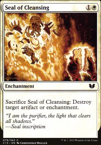 Seal of Cleansing - Commander 2015